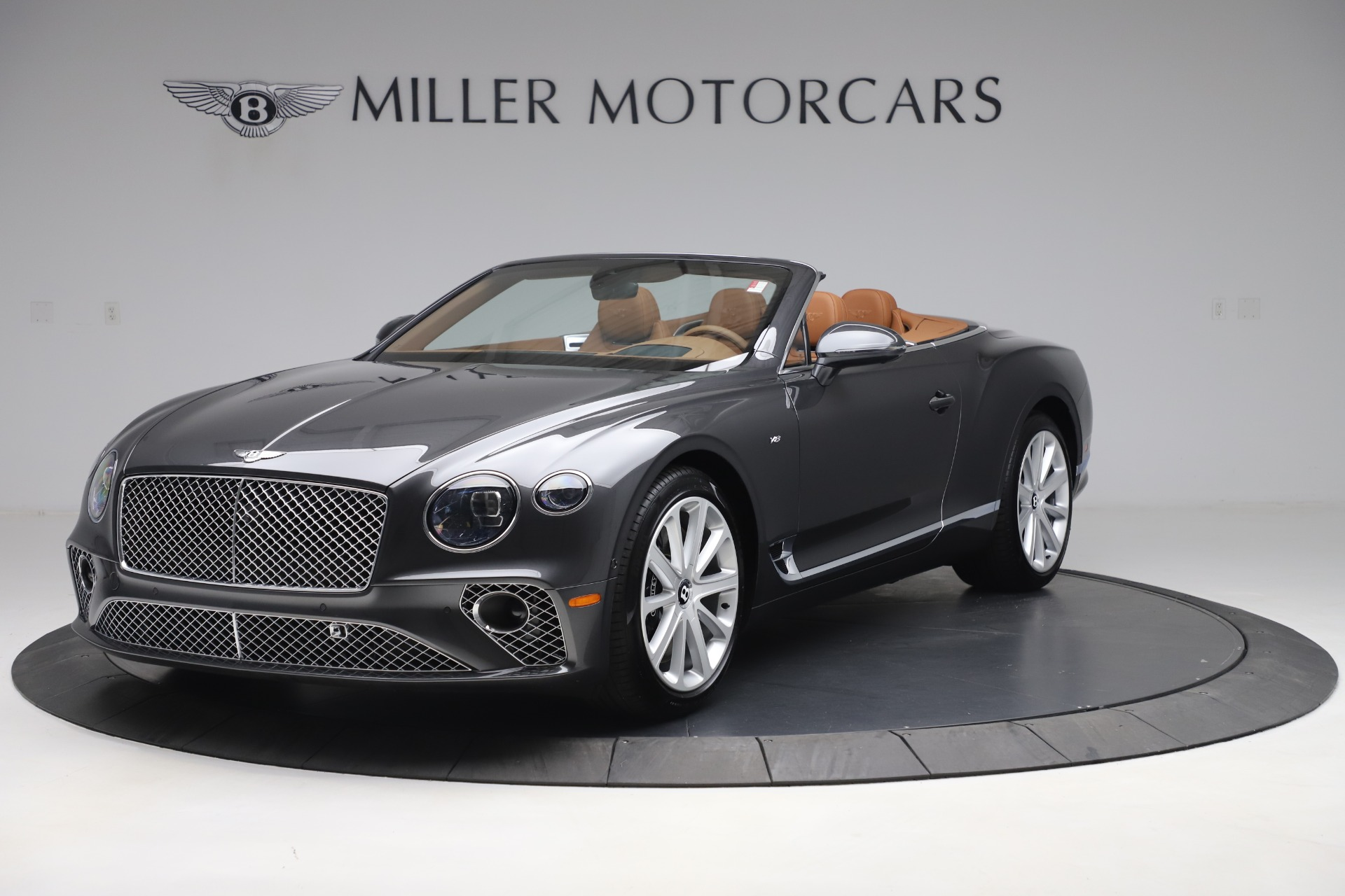 New 2020 Bentley Continental GTC V8 for sale $266,665 at Maserati of Greenwich in Greenwich CT 06830 1