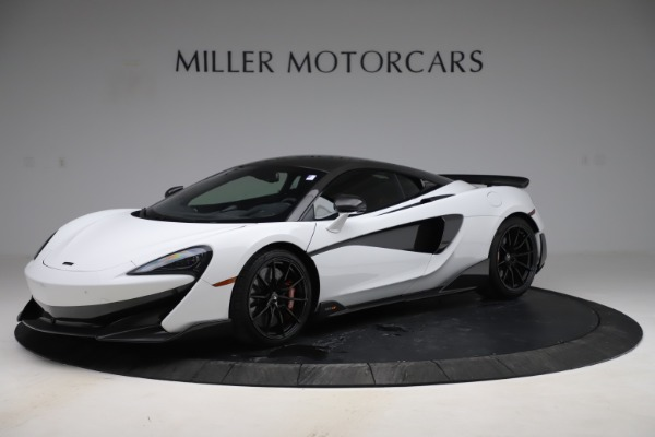 Used 2019 McLaren 600LT Coupe for sale $229,990 at Maserati of Greenwich in Greenwich CT 06830 1