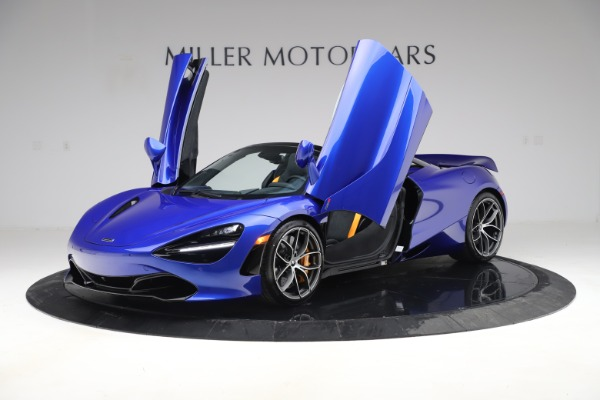 New 2020 McLaren 720S Spider Convertible for sale $364,090 at Maserati of Greenwich in Greenwich CT 06830 10
