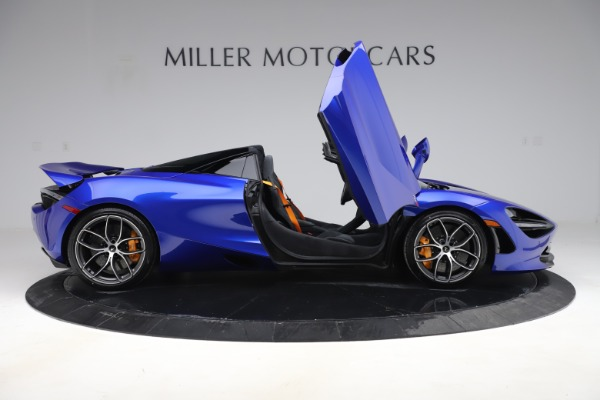 New 2020 McLaren 720S Spider Convertible for sale $364,090 at Maserati of Greenwich in Greenwich CT 06830 15
