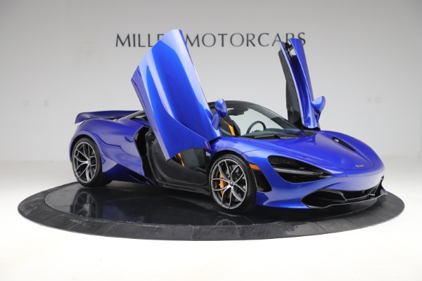 New 2020 McLaren 720S Spider Convertible for sale $364,090 at Maserati of Greenwich in Greenwich CT 06830 16