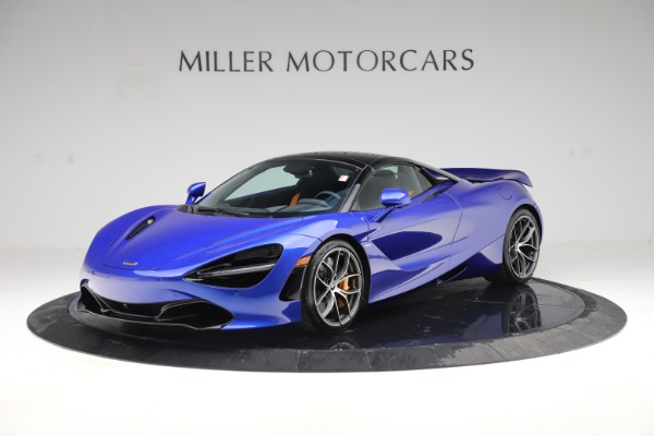 New 2020 McLaren 720S Spider Convertible for sale $364,090 at Maserati of Greenwich in Greenwich CT 06830 18