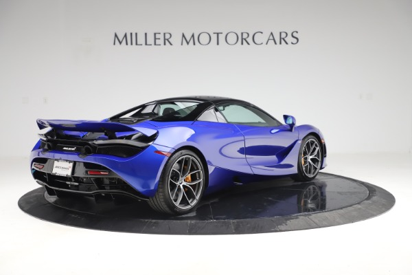New 2020 McLaren 720S Spider Convertible for sale $364,090 at Maserati of Greenwich in Greenwich CT 06830 22