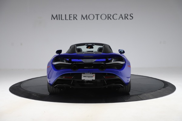 New 2020 McLaren 720S Spider Convertible for sale $364,090 at Maserati of Greenwich in Greenwich CT 06830 4