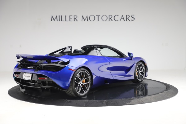 New 2020 McLaren 720S Spider Convertible for sale $364,090 at Maserati of Greenwich in Greenwich CT 06830 5