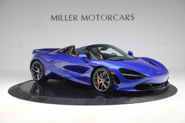 New 2020 McLaren 720S Spider Convertible for sale $364,090 at Maserati of Greenwich in Greenwich CT 06830 7
