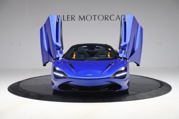 New 2020 McLaren 720S Spider Convertible for sale $364,090 at Maserati of Greenwich in Greenwich CT 06830 9