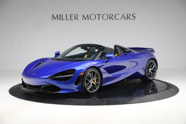 New 2020 McLaren 720S Spider Convertible for sale $364,090 at Maserati of Greenwich in Greenwich CT 06830 1