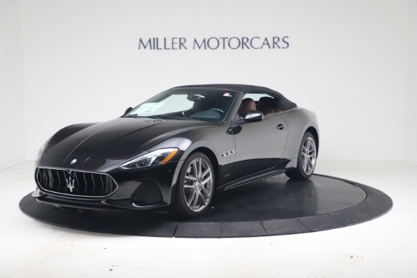 New 2019 Maserati GranTurismo Sport Convertible for sale $165,645 at Maserati of Greenwich in Greenwich CT 06830 13