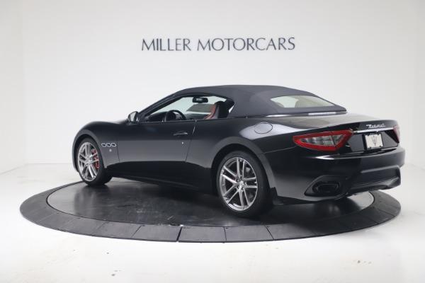 New 2019 Maserati GranTurismo Sport Convertible for sale $165,645 at Maserati of Greenwich in Greenwich CT 06830 15