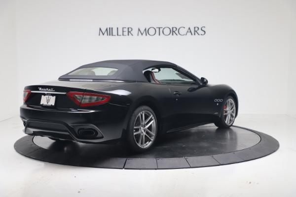 New 2019 Maserati GranTurismo Sport Convertible for sale $165,645 at Maserati of Greenwich in Greenwich CT 06830 16