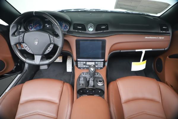 New 2019 Maserati GranTurismo Sport Convertible for sale $165,645 at Maserati of Greenwich in Greenwich CT 06830 22