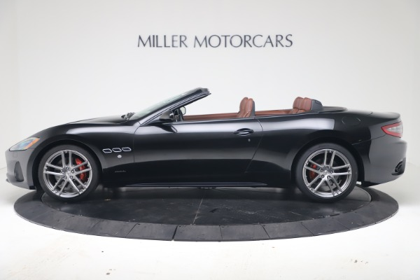 New 2019 Maserati GranTurismo Sport Convertible for sale $165,645 at Maserati of Greenwich in Greenwich CT 06830 3