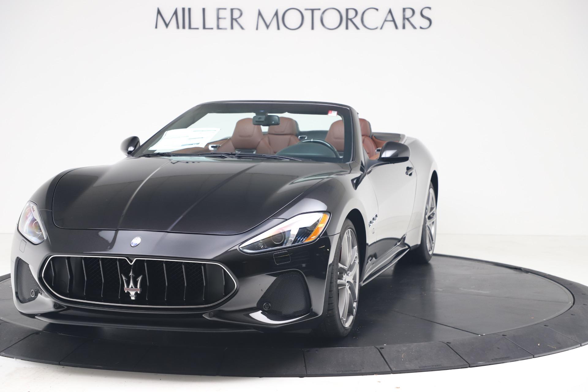 New 2019 Maserati GranTurismo Sport Convertible for sale $165,645 at Maserati of Greenwich in Greenwich CT 06830 1