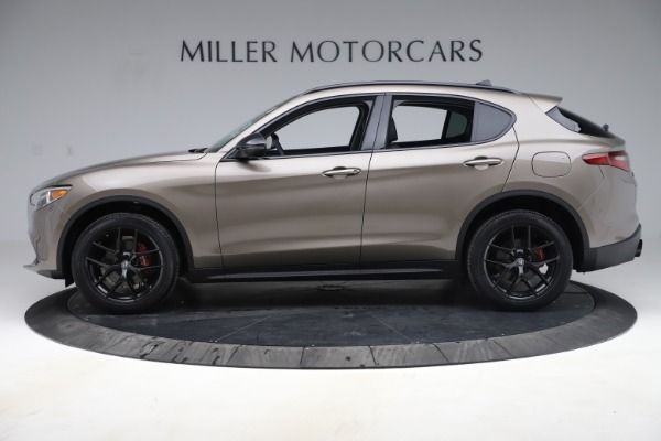 New 2019 Alfa Romeo Stelvio Q4 for sale Sold at Maserati of Greenwich in Greenwich CT 06830 3