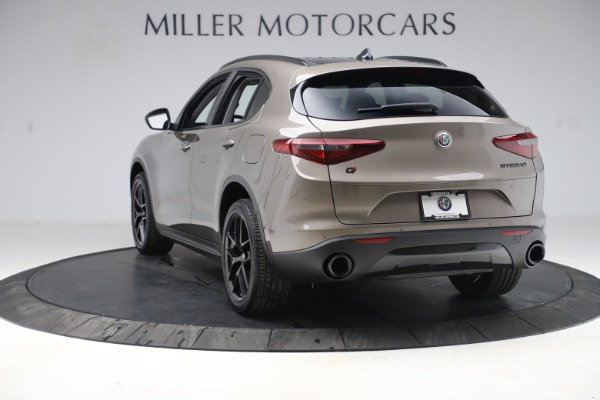 New 2019 Alfa Romeo Stelvio Q4 for sale Sold at Maserati of Greenwich in Greenwich CT 06830 5