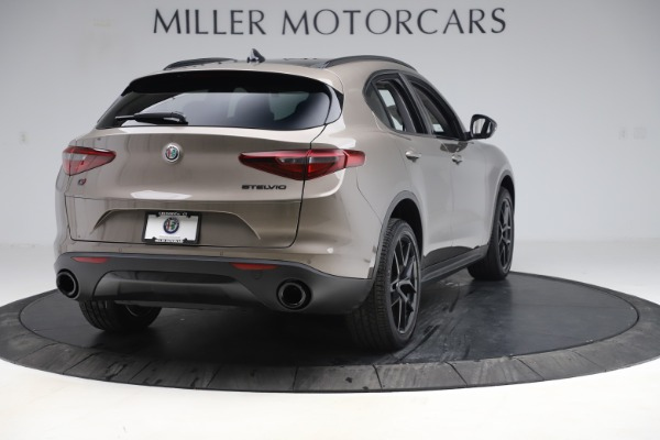 New 2019 Alfa Romeo Stelvio Q4 for sale Sold at Maserati of Greenwich in Greenwich CT 06830 7