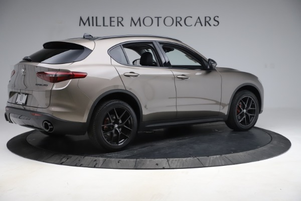 New 2019 Alfa Romeo Stelvio Q4 for sale Sold at Maserati of Greenwich in Greenwich CT 06830 8