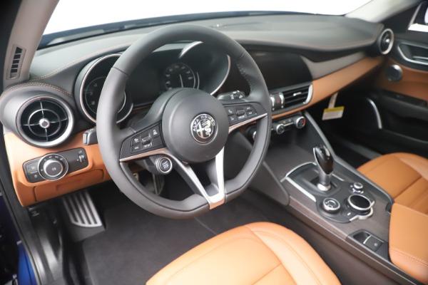 New 2019 Alfa Romeo Giulia Ti Lusso Q4 for sale Sold at Maserati of Greenwich in Greenwich CT 06830 13