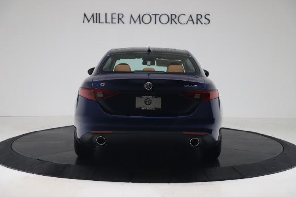 New 2019 Alfa Romeo Giulia Ti Lusso Q4 for sale Sold at Maserati of Greenwich in Greenwich CT 06830 6