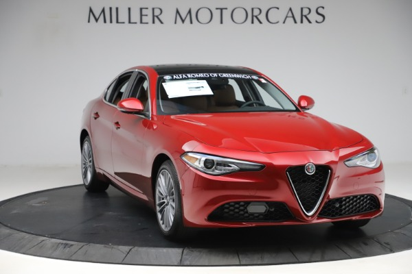 New 2019 Alfa Romeo Giulia Ti Lusso Q4 for sale $54,790 at Maserati of Greenwich in Greenwich CT 06830 11