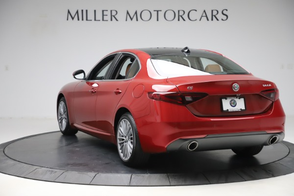 New 2019 Alfa Romeo Giulia Ti Lusso Q4 for sale $54,790 at Maserati of Greenwich in Greenwich CT 06830 5