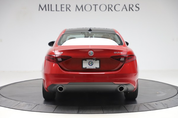 New 2019 Alfa Romeo Giulia Ti Lusso Q4 for sale $54,790 at Maserati of Greenwich in Greenwich CT 06830 6