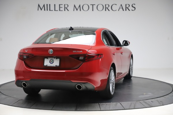 New 2019 Alfa Romeo Giulia Ti Lusso Q4 for sale $54,790 at Maserati of Greenwich in Greenwich CT 06830 7