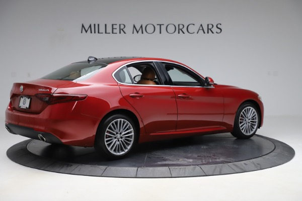 New 2019 Alfa Romeo Giulia Ti Lusso Q4 for sale $54,790 at Maserati of Greenwich in Greenwich CT 06830 8