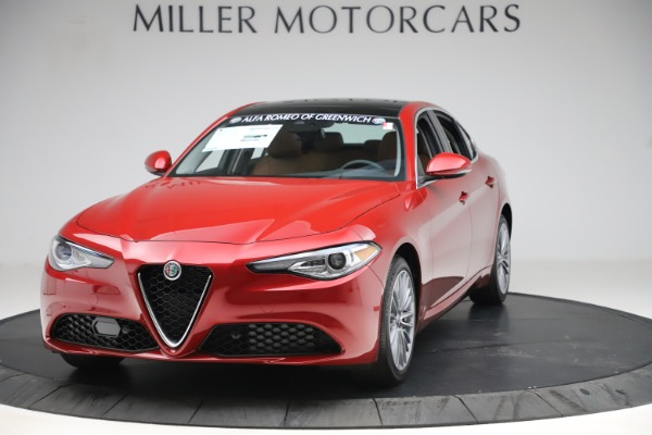 New 2019 Alfa Romeo Giulia Ti Lusso Q4 for sale $54,790 at Maserati of Greenwich in Greenwich CT 06830 1