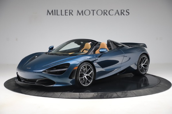 New 2020 McLaren 720S Spider Luxury for sale $380,835 at Maserati of Greenwich in Greenwich CT 06830 1