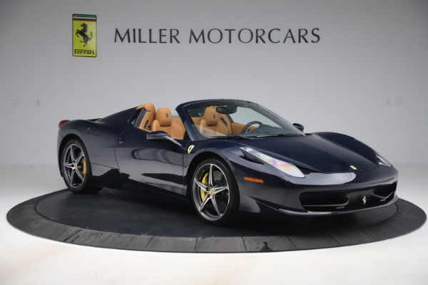 Used 2012 Ferrari 458 Spider for sale $194,900 at Maserati of Greenwich in Greenwich CT 06830 11