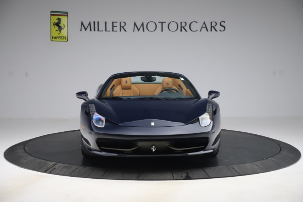 Used 2012 Ferrari 458 Spider for sale $194,900 at Maserati of Greenwich in Greenwich CT 06830 12