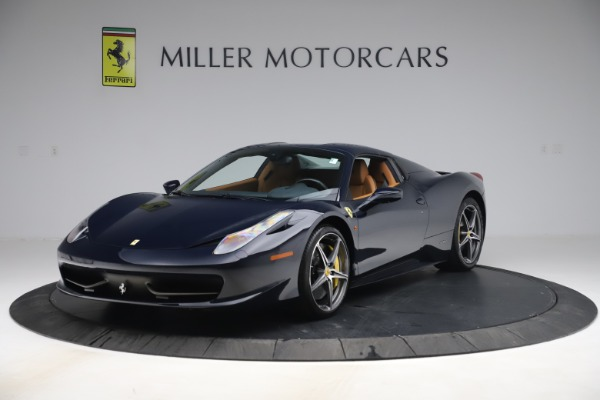 Used 2012 Ferrari 458 Spider for sale $194,900 at Maserati of Greenwich in Greenwich CT 06830 13