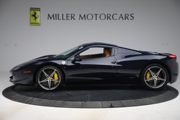 Used 2012 Ferrari 458 Spider for sale $194,900 at Maserati of Greenwich in Greenwich CT 06830 14
