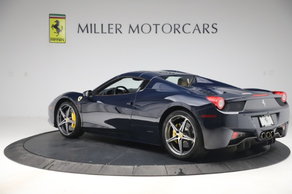 Used 2012 Ferrari 458 Spider for sale $194,900 at Maserati of Greenwich in Greenwich CT 06830 15