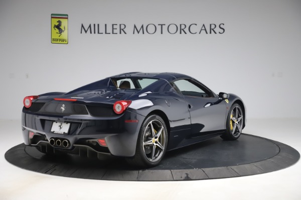 Used 2012 Ferrari 458 Spider for sale $194,900 at Maserati of Greenwich in Greenwich CT 06830 16