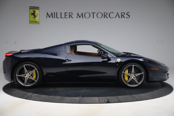 Used 2012 Ferrari 458 Spider for sale $194,900 at Maserati of Greenwich in Greenwich CT 06830 17