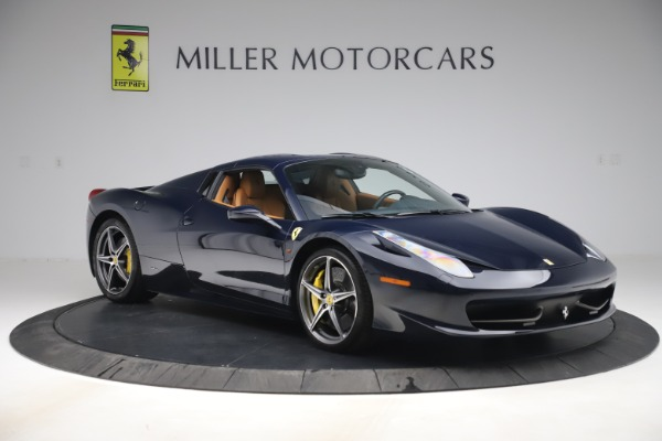 Used 2012 Ferrari 458 Spider for sale $194,900 at Maserati of Greenwich in Greenwich CT 06830 18