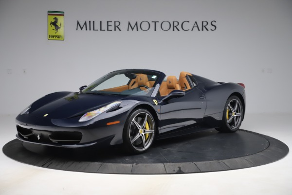 Used 2012 Ferrari 458 Spider for sale $194,900 at Maserati of Greenwich in Greenwich CT 06830 2