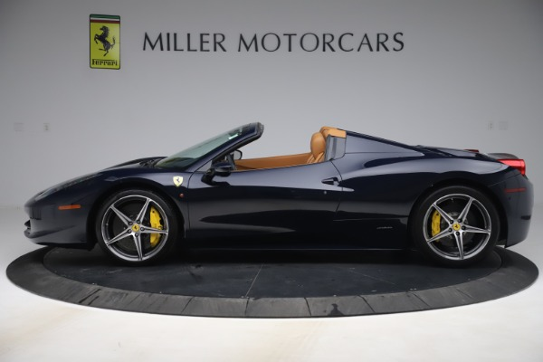 Used 2012 Ferrari 458 Spider for sale $194,900 at Maserati of Greenwich in Greenwich CT 06830 3
