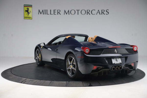 Used 2012 Ferrari 458 Spider for sale $194,900 at Maserati of Greenwich in Greenwich CT 06830 5