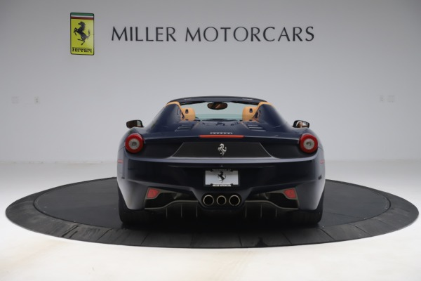 Used 2012 Ferrari 458 Spider for sale $194,900 at Maserati of Greenwich in Greenwich CT 06830 6