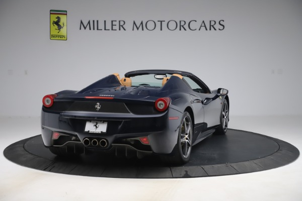 Used 2012 Ferrari 458 Spider for sale $194,900 at Maserati of Greenwich in Greenwich CT 06830 7