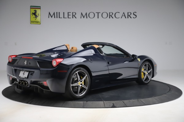 Used 2012 Ferrari 458 Spider for sale $194,900 at Maserati of Greenwich in Greenwich CT 06830 8