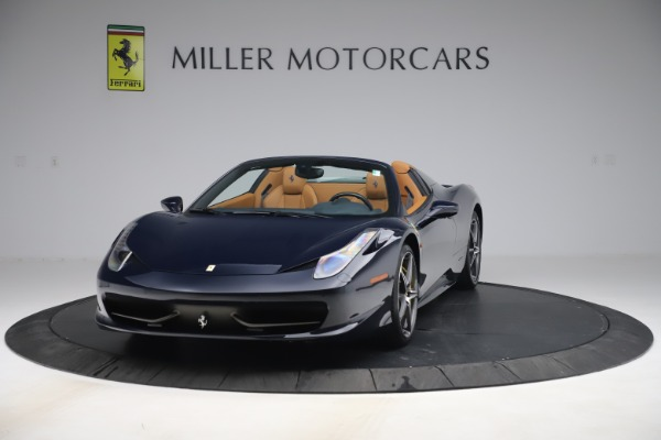 Used 2012 Ferrari 458 Spider for sale $194,900 at Maserati of Greenwich in Greenwich CT 06830 1