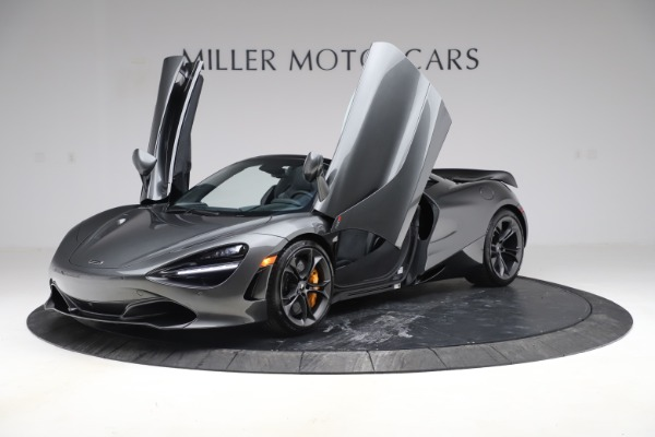 New 2020 McLaren 720S Spider Convertible for sale $332,570 at Maserati of Greenwich in Greenwich CT 06830 10