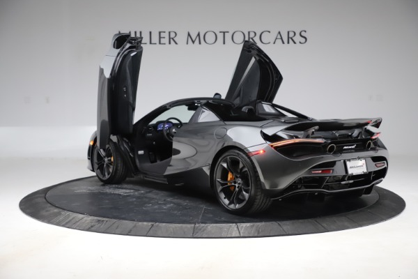 New 2020 McLaren 720S Spider Convertible for sale $332,570 at Maserati of Greenwich in Greenwich CT 06830 12