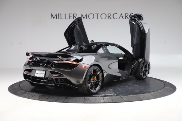 New 2020 McLaren 720S Spider Convertible for sale $332,570 at Maserati of Greenwich in Greenwich CT 06830 14