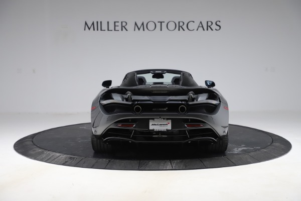 New 2020 McLaren 720S Spider Convertible for sale $332,570 at Maserati of Greenwich in Greenwich CT 06830 4